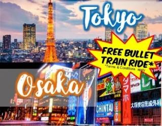 7/8D Tokyo Osaka Twin City Special (12, 19 Dec)
