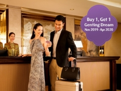 Dream Cruises: 5N PENANG / PHUKET / LANGKAWI / PORT KLANG Cruise or 5N SAMUI / BANGKOK Cruise or 5N PENANG / PHUKET / KAW Cruise (2nd Pax Cruise FREE)