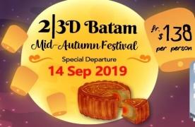 2D1N/3D2N Batam Mid Autumn Festival