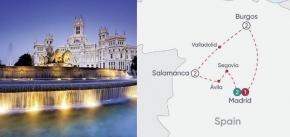 SPANISH HERITAGE EXPLORER 2019 (8 Days Madrid to Madrid)