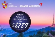 4D3N All In Fare Seoul Free & Easy Package