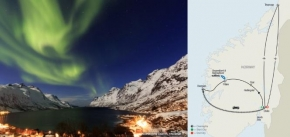 NORWEGIAN FJORDS ESCAPE WITH NORTHERN LIGHTS (10 DAYS FROM OSLO to OSLO)