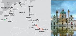 EUROPEAN CAPITALS 2019 - 14 days PARIS to VIENNA