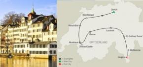 SWISS ESCAPE (8 DAYS FROM ZURICH to LUGANO)