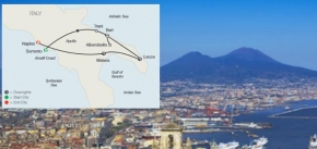 SOUTHERN ITALY ESCAPE (9 DAYS FROM SORRENTO to NAPLES)