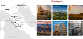 THE SPLENDOURS OF ITALY 2020 - 9 days ROME to ROME