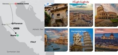 ROME, FLORENCE & VENICE 2020 - 7 days ROME to VENICE