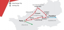 7 Days Red Ruby Sapphire Route - Western Europe