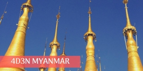 4 Days 3 Nights Yangon Village Trails (min 2 to go)