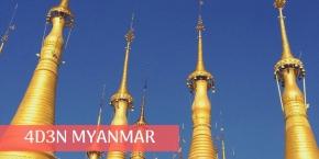 4 Days 3 Nights Yangon Thanlyin Delightful  (2 to go)