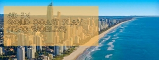 4D 3N Gold Coast Play (Two World)