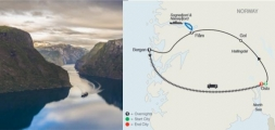 NORWEGIAN FJORDS ESCAPE (7 DAYS FROM OSLO to OSLO)