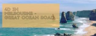 4D 3N Melbourne - Great Ocean Road