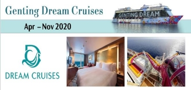 Genting Dream - Summer 2020 - Up to 40% Off