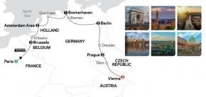 EUROPEAN CAPITALS 2020 - 14 days PARIS to VIENNA