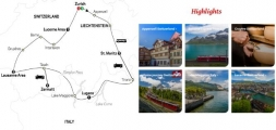 GRAND TOUR OF SWITZERLAND 2020 - 10 days ZURICH to ZURICH