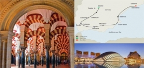 SPANISH ESCAPE (9 DAYS FROM MADRID to BARCELONA)