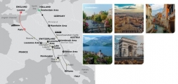 EUROPE'S HIGHLIGHTS 2020 - 14 days AMSTERDAM to PARIS