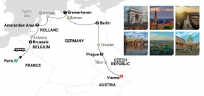 EUROPEAN CAPITALS 2020 - 14 days PARIS to VIENNA