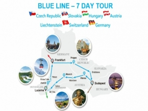 BLUE LINE - 7 DAY TOUR