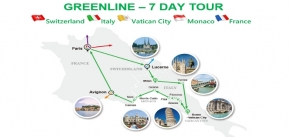 GREEN LINE - 7 DAY TOUR