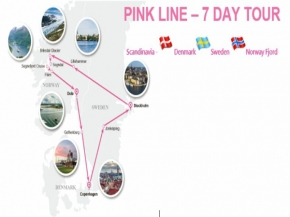 PINK LINE - 7 DAY TOUR
