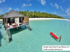 4D3N Romance in Maldives (2020) - Paradise Island Resort & Spa Maldives (4*)