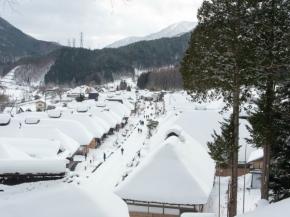 8D6N Winter North Central Japan